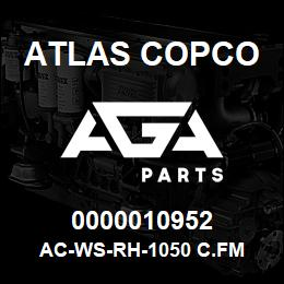 0000010952 Atlas Copco AC-WS-RH-1050 C.FM | AGA Parts