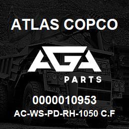 0000010953 Atlas Copco AC-WS-PD-RH-1050 C.FM | AGA Parts