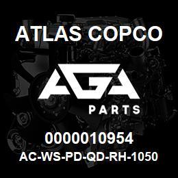 0000010954 Atlas Copco AC-WS-PD-QD-RH-1050 C.FM | AGA Parts