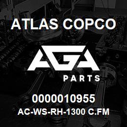 0000010955 Atlas Copco AC-WS-RH-1300 C.FM | AGA Parts