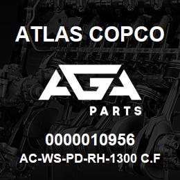 0000010956 Atlas Copco AC-WS-PD-RH-1300 C.FM   AGA Parts