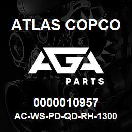 0000010957 Atlas Copco AC-WS-PD-QD-RH-1300 C.FM | AGA Parts