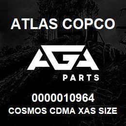 0000010964 Atlas Copco COSMOS CDMA XAS SIZE2 C.7   AGA Parts