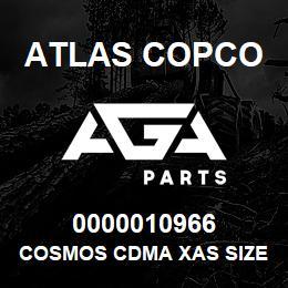 0000010966 Atlas Copco COSMOS CDMA XAS SIZE2 C.9 | AGA Parts