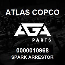 0000010968 Atlas Copco SPARK ARRESTOR | AGA Parts