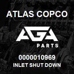 0000010969 Atlas Copco INLET SHUT DOWN | AGA Parts