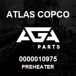 0000010975 Atlas Copco PREHEATER | AGA Parts