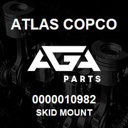 0000010982 Atlas Copco SKID MOUNT   AGA Parts