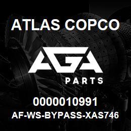 0000010991 Atlas Copco AF-WS-BYPASS-XAS746 | AGA Parts