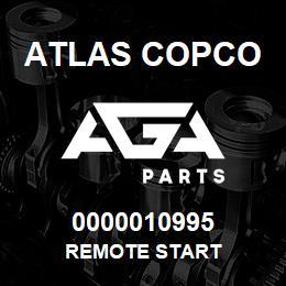 0000010995 Atlas Copco REMOTE START | AGA Parts