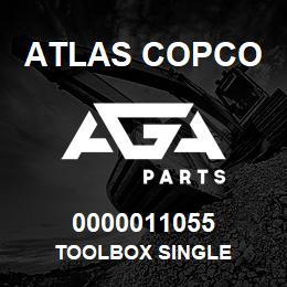 0000011055 Atlas Copco TOOLBOX SINGLE | AGA Parts