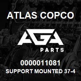 0000011081 Atlas Copco SUPPORT MOUNTED 37-47-57   AGA Parts