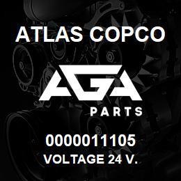 0000011105 Atlas Copco VOLTAGE 24 V. | AGA Parts