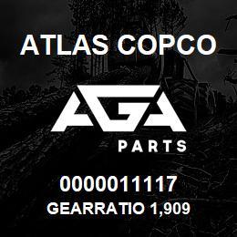 0000011117 Atlas Copco GEARRATIO 1,909 | AGA Parts