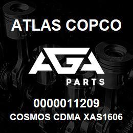 0000011209 Atlas Copco COSMOS CDMA XAS1606 C.D | AGA Parts
