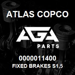 0000011400 Atlas Copco FIXED BRAKES S1,5 | AGA Parts