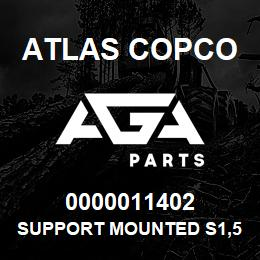 0000011402 Atlas Copco SUPPORT MOUNTED S1,5-2LP | AGA Parts