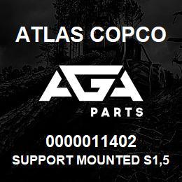 0000011402 Atlas Copco SUPPORT MOUNTED S1,5-2LP | AGA Parts