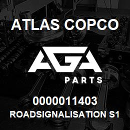 0000011403 Atlas Copco ROADSIGNALISATION S1,5-2LP | AGA Parts