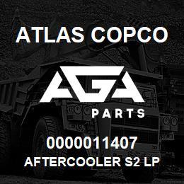 0000011407 Atlas Copco AFTERCOOLER S2 LP | AGA Parts