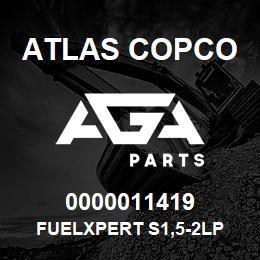 0000011419 Atlas Copco FUELXPERT S1,5-2LP   AGA Parts