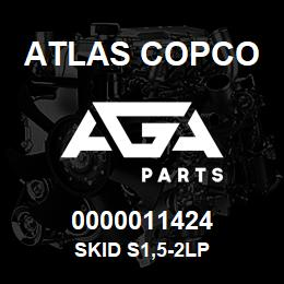 0000011424 Atlas Copco SKID S1,5-2LP | AGA Parts