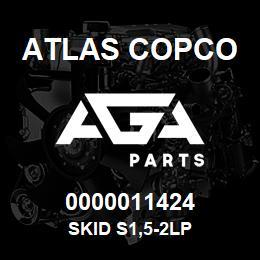 0000011424 Atlas Copco SKID S1,5-2LP   AGA Parts