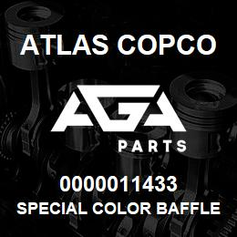 0000011433 Atlas Copco SPECIAL COLOR BAFFLE S1,5-2LP | AGA Parts