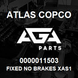 0000011503 Atlas Copco FIXED NO BRAKES XAS137 | AGA Parts