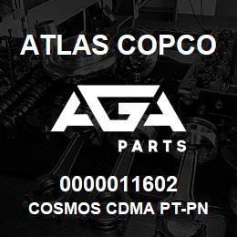 0000011602 Atlas Copco COSMOS CDMA PT-PN | AGA Parts