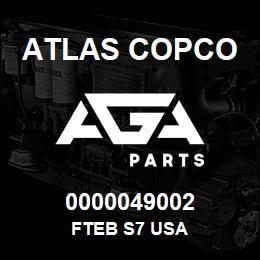 0000049002 Atlas Copco FTEB S7 USA | AGA Parts