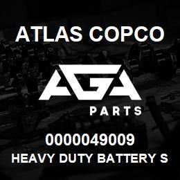 0000049009 Atlas Copco HEAVY DUTY BATTERY S7, S1 USA | AGA Parts