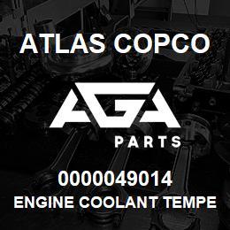 0000049014 Atlas Copco ENGINE COOLANT TEMPERATURE S7   AGA Parts