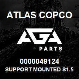 0000049124 Atlas Copco SUPPORT MOUNTED S1.5 USA | AGA Parts