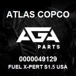 0000049129 Atlas Copco FUEL X-PERT S1.5 USA | AGA Parts