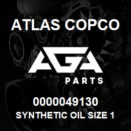 0000049130 Atlas Copco SYNTHETIC OIL SIZE 1.5 USA | AGA Parts