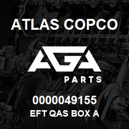 0000049155 Atlas Copco EFT QAS BOX A | AGA Parts