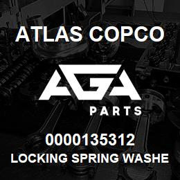 0000135312 Atlas Copco LOCKING SPRING WASHER | AGA Parts