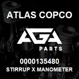 0000135480 Atlas Copco STIRRUP X MANOMETER | AGA Parts