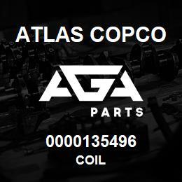 0000135496 Atlas Copco COIL | AGA Parts