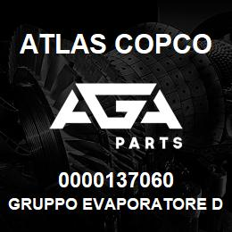 0000137060 Atlas Copco GRUPPO EVAPORATORE D4 | AGA Parts