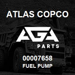 00007658 Atlas Copco FUEL PUMP | AGA Parts