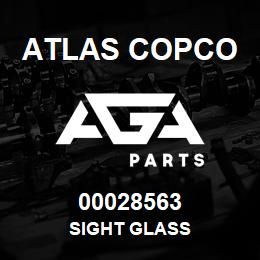 00028563 Atlas Copco SIGHT GLASS | AGA Parts