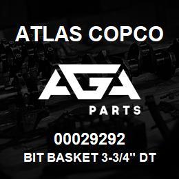 00029292 Atlas Copco BIT BASKET 3-3/4