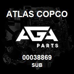 00038869 Atlas Copco SUB | AGA Parts