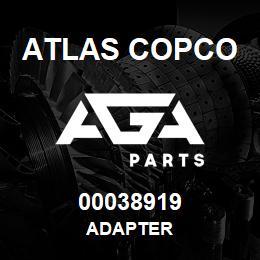 00038919 Atlas Copco ADAPTER | AGA Parts