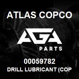 00059782 Atlas Copco DRILL LUBRICANT (COPPER) | AGA Parts