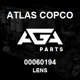 00060194 Atlas Copco LENS | AGA Parts