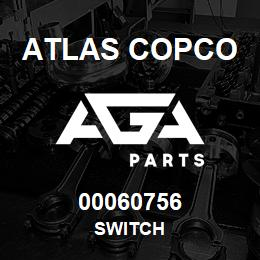 00060756 Atlas Copco SWITCH | AGA Parts