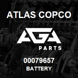00079657 Atlas Copco BATTERY | AGA Parts